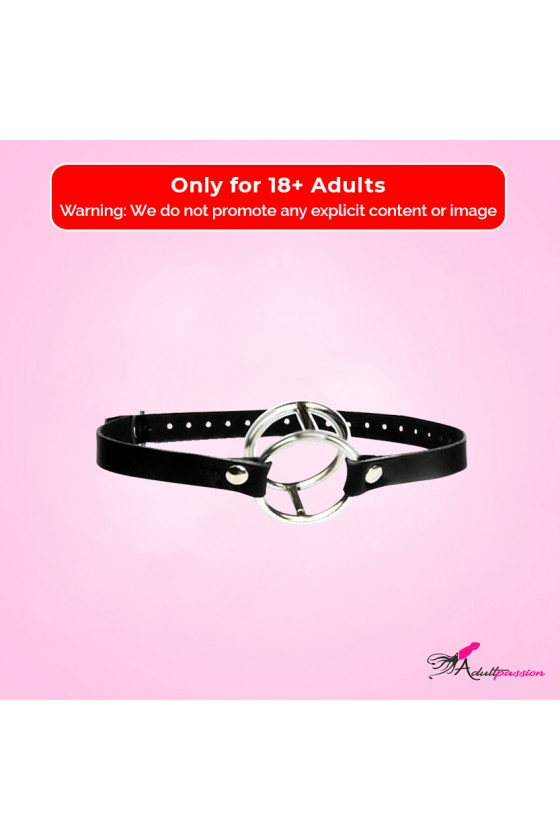 Double Metal Ring Gag for...