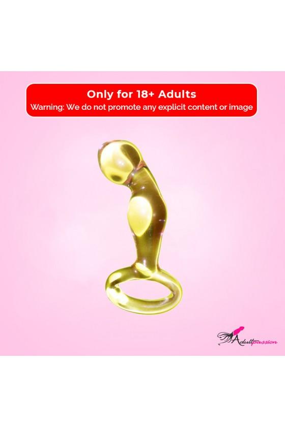 Jaguar Golden Glass Dildo...
